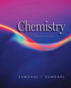 Chemistry 7th edition 9780618528448 061852844X