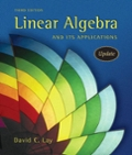 Linear Algebra and Its Applications with CD-ROM, Update