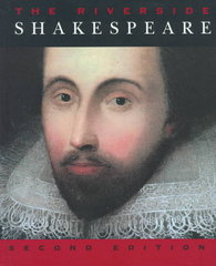 The Riverside Shakespeare 2nd Edition 9780395754900 0395754909
