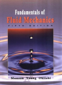 Fundamentals of Fluid Mechanics 5th edition 9780471675822 0471675822