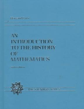 An introduction to the history of mathematics 6th edition rent an introduction to the history of mathematics 6th edition fandeluxe Gallery