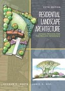 Residential Landscape Architecture 6th Edition 9780132376198 0132376199
