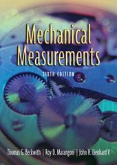 Mechanical Measurements 6th edition 9780201847659 0201847655