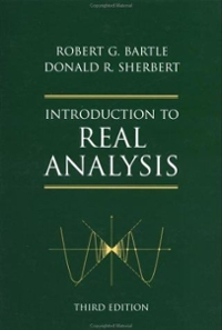 Introduction To Real Analysis 3rd Edition Textbook Solutions | Chegg com