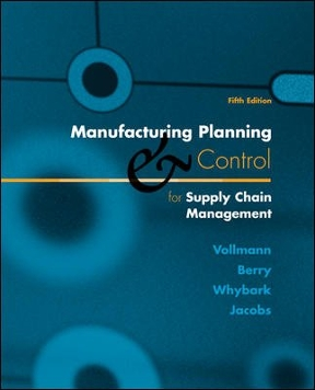 Manufacturing planning and control for supply chain management 6th manufacturing planning and control for supply chain management 6th edition fandeluxe Choice Image