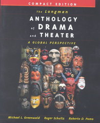 The Longman Anthology of Drama and Theater 1st Edition 9780321088987 0321088980