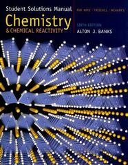 Student Solutions Manual for Kotz/Treichel/Weaver's Chemistry and Chemical Reactivity, 6th 6th edition 9780534998523 0534998526
