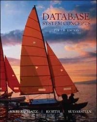 Database System Concepts (6th) edition 0073523321 9780073523323