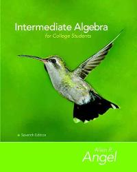 Intermediate Algebra for College Students (7th) edition 9780132383578 0132383578