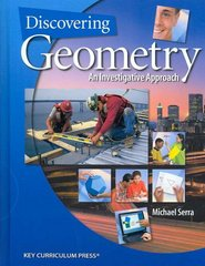 Discovering Geometry 4th Edition 9781559538824 1559538821