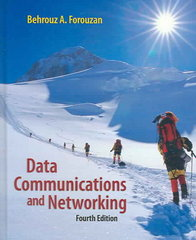 Data Communications Networking 4th edition 9780073250328 0073250325