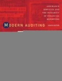 Modern Auditing (8th) edition 0471230111 9780471230113
