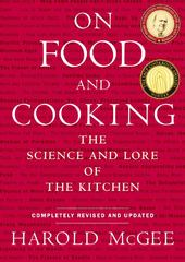 On Food and Cooking 1st Edition 9780684800011 0684800012