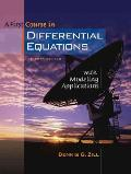 A First Course in Differential Equations with Modeling Applications (with CD-ROM and iLrn Tutorial)