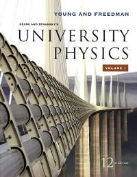 University Physics Vol 1 (Chapters 1-20) (12th) edition 0321500628 9780321500625