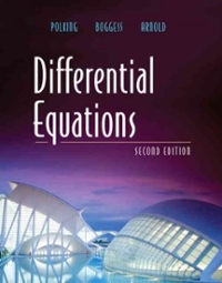 Differential Equations (2nd) edition 0131437380 9780131437388