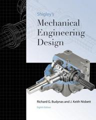 Shigley's Mechanical Engineering Design 8th edition 9780073312606 0073312606