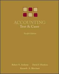 Accounting: Texts and Cases (12th) edition 0073100919 9780073100913