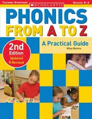 Phonics from A to Z 2nd Edition 9780439845113 0439845114
