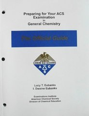 preparing for your acs examination in general chemistry 0th edition rh chegg com acs general chemistry study guide online acs general chemistry 2 study guide pdf