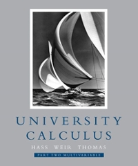 University Calculus (1st) edition 9780321388506 032138850X