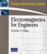 Electromagnetics for Engineers (1st) edition 0131497243 9780131497245