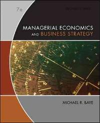 Managerial Economics & Business Strategy (7th) edition 0073375969 9780073375960