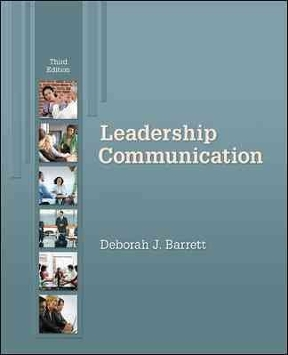 Leadership communication 4th edition rent 9780073403205 chegg leadership communication 4th edition 9780073403205 0073403202 fandeluxe Choice Image