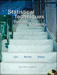 Statistical Techniques in Business and Economics with Student CD 14th edition 9780077309428 0077309421