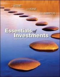 Essentials of Investments 8th edition 9780073382401 007338240X