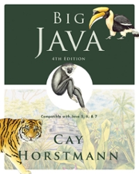 Big Java (4th) edition 0470509481 9780470509487