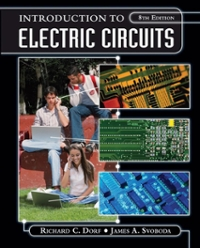 Introduction to Electric Circuits 8th edition 9780470521571 0470521570