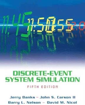 Banks Carson Nelson & Nicol Discrete-Event System Simulation 5th Edition