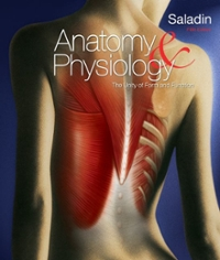 Anatomy and Physiology 5th edition 9780077276201 0077276205