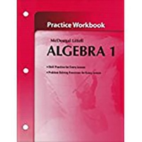 McDougal Littell - Algebra 1 (0th) edition 9780618736942 0618736942