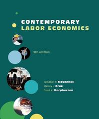 Contemporary Labor Economics 9th edition 9780073375953 0073375950
