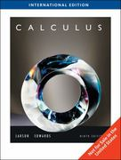 Calculus, International Edition 9th edition 9781439030332 1439030332