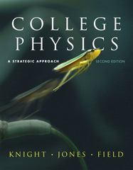 College Physics: Strategic Approach with MasteringPhysics 2nd edition 9780321595485 0321595483