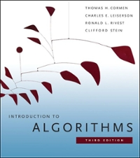 Introduction to Algorithms 3rd edition 9780262033848 0262033844