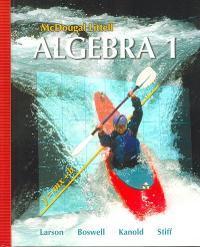Algebra 1 (0th) edition 9780618594023 0618594027
