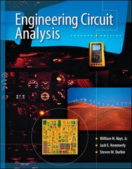 Engineering Circuit Analysis 7th edition 9780073366616 0073366617