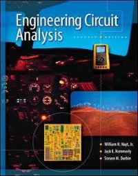 Engineering Circuit Analysis (7th) edition 9780073366616 0073366617