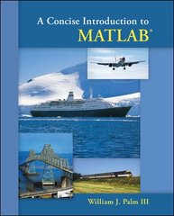 A Concise Introduction to Matlab 1st edition 9780073385839 0073385832