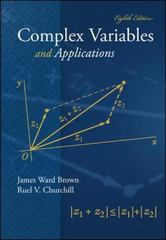 Complex Variables and Applications 8th edition 9780073051949 0073051942