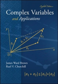 Complex Variables and Applications (8th) edition 0073051942 9780073051949