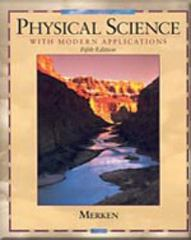Physical Science with Modern Applications 5th edition 9780030960109 003096010X