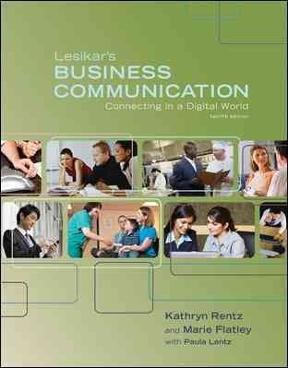 Lesikar's business communication 12th edition
