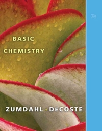 Basic Chemistry (7th) edition 9780538736374 0538736372
