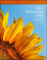 Hutchinson's Basic Mathematical Skills With Geometry (8th) edition 9780073384177 0073384178