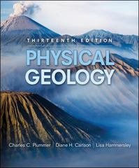 Physical Geology 13th edition 9780073376714 007337671X